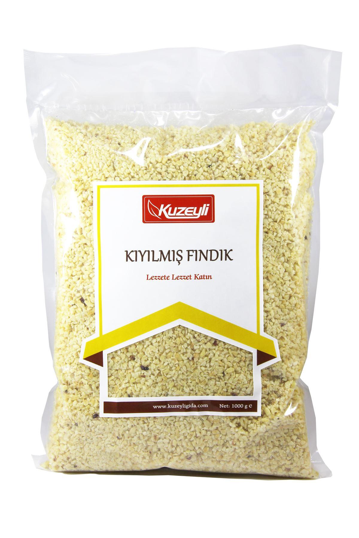 Kıyılmış Fındık 1 Kg (Pirinç Fındık)