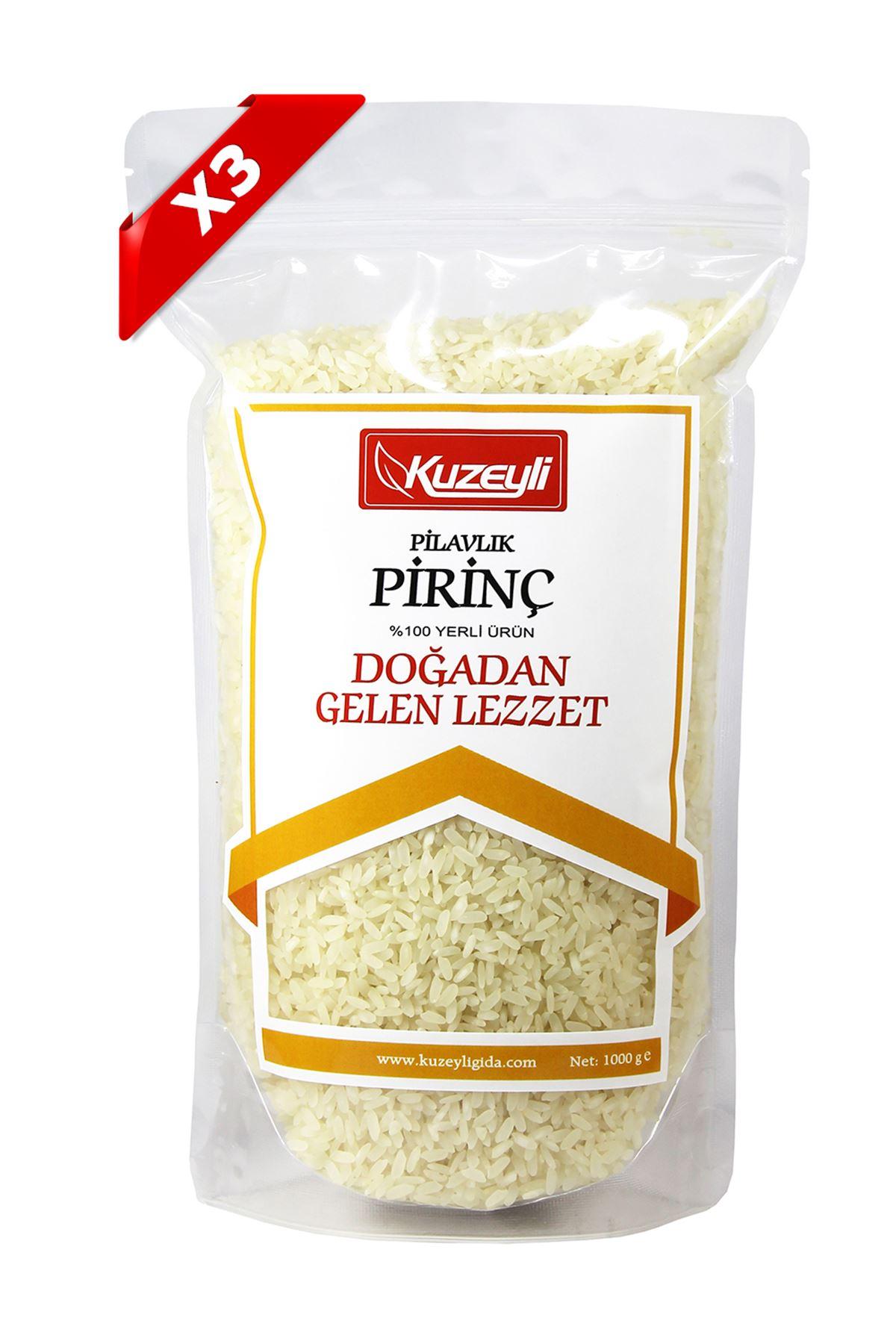 Pirinç Seti 3'Lü (3 Adet 1'Er Kg)