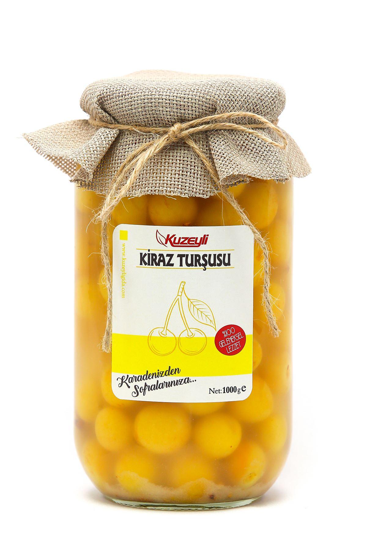 Sarı Kiraz Turşusu 1 Kg