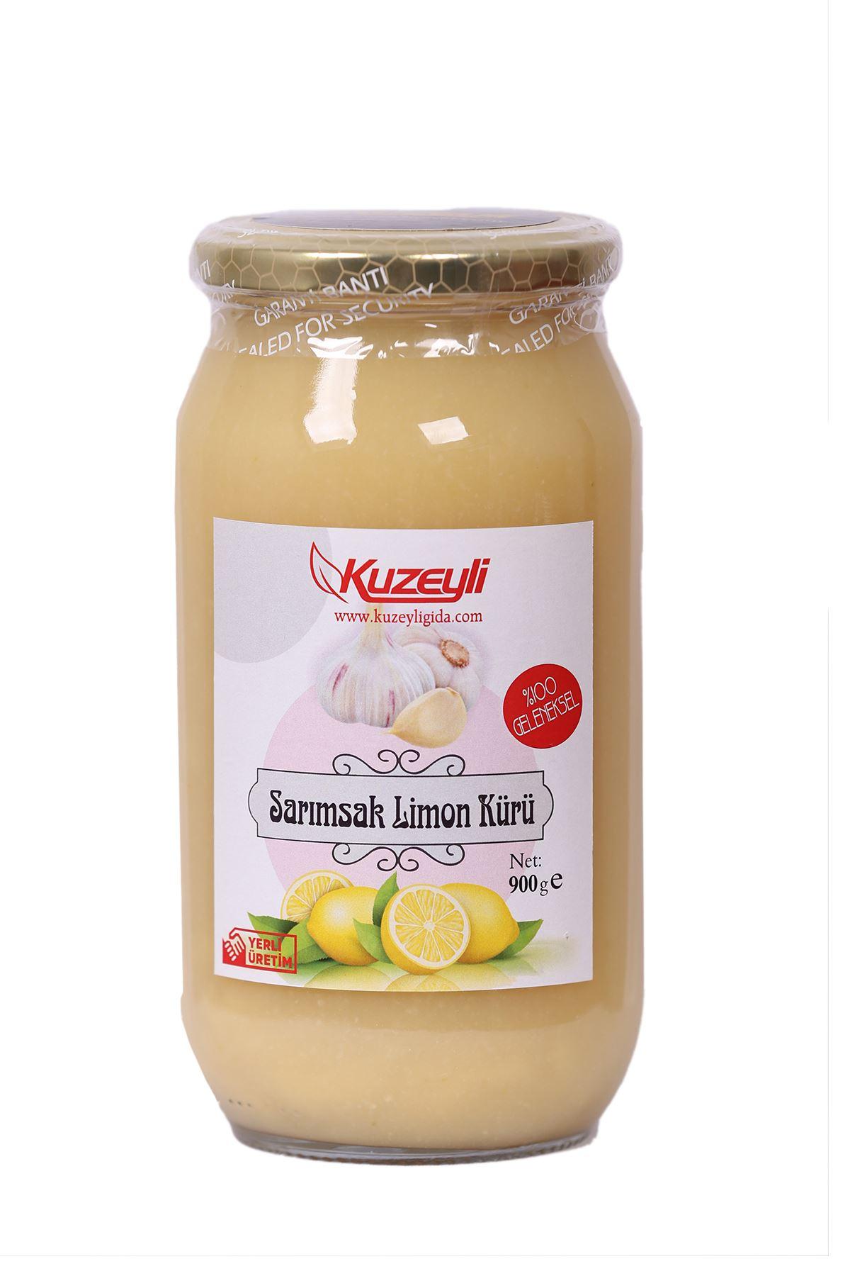 Sarımsak Limon Kürü 900 gr