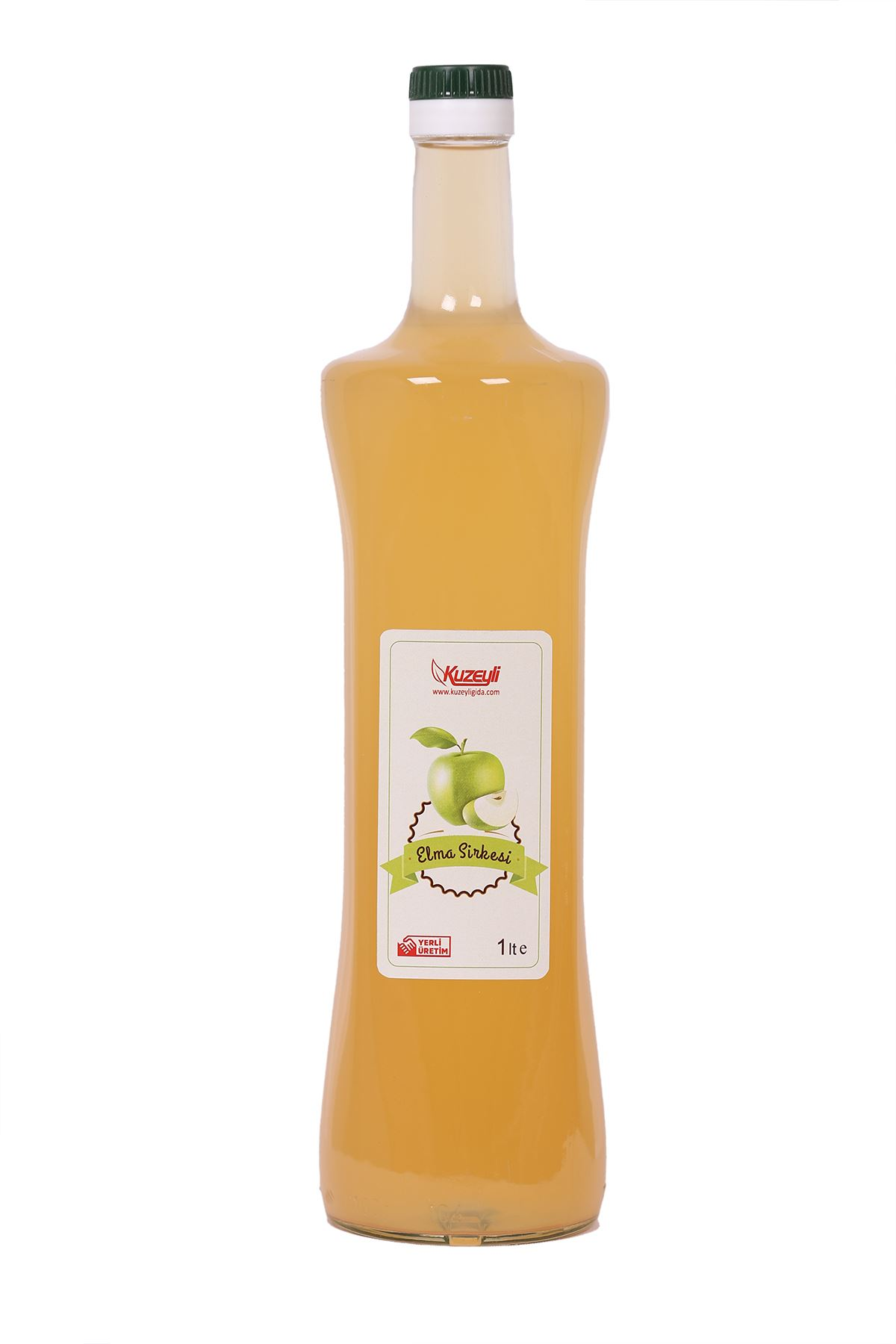 Elma Sirkesi 1Lt  - Organik Cam Şişe